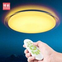 2018 New Original modern Smart LED Ceiling Lights 25W 60W lamp Remote Control Dimming Bedroom Living Room Intelligenc Lighting
