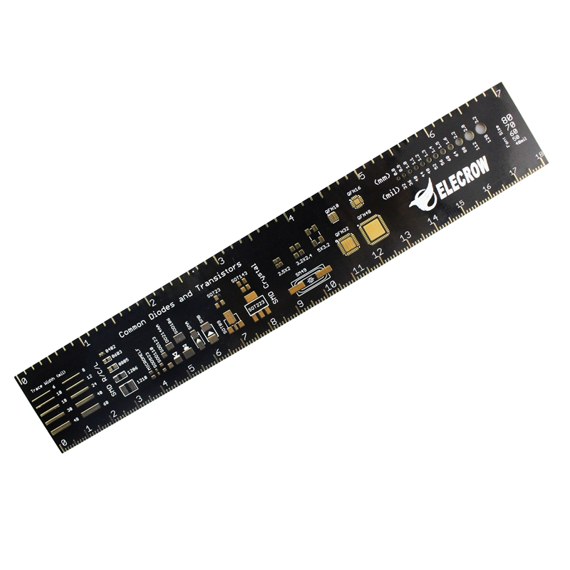 Elecrow 6 Pcb Ruler Electronic Engineer Required Pcb