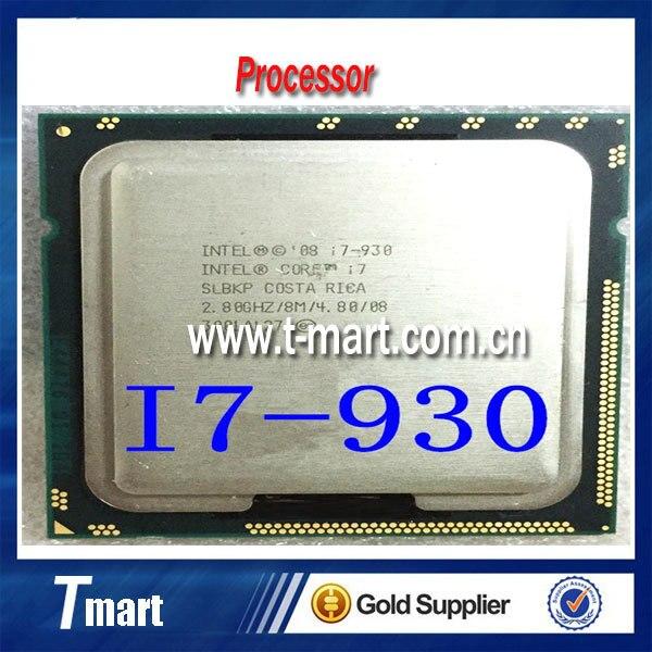 100% Работает На Intel i7 930 Процессор 2.8 ГГц/LGA1366/8 МБ Четырехъядерный процессор Полностью Протестированы