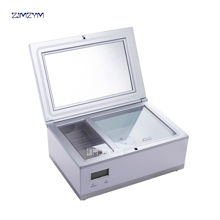 CC-3L Cosmetic Refrigerator 3L Cosmetics Reefer Portable Freezer For Cosmetics Car Fridge Vertical Mini Cooler Box AC220V 8-18C