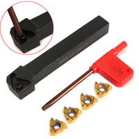 6pcs Set SER1212H16 Tool Holder Boring Bar 16ER AG60 Inserts With Wrench For CNC Turning Tool