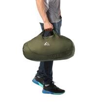 Ultraleicht Klapp Handtasche Packable Einkaufen Reise Hand Tragen Tasche Vakuum Beutel Für Kleidung Für Männer Frauen