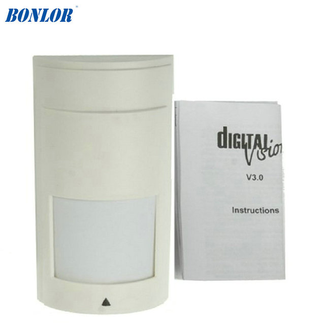 (10 PCS) Indoor wired PIR and microwave digital intelligent motion sensor high quality paradox PA-525D For Free Shipping