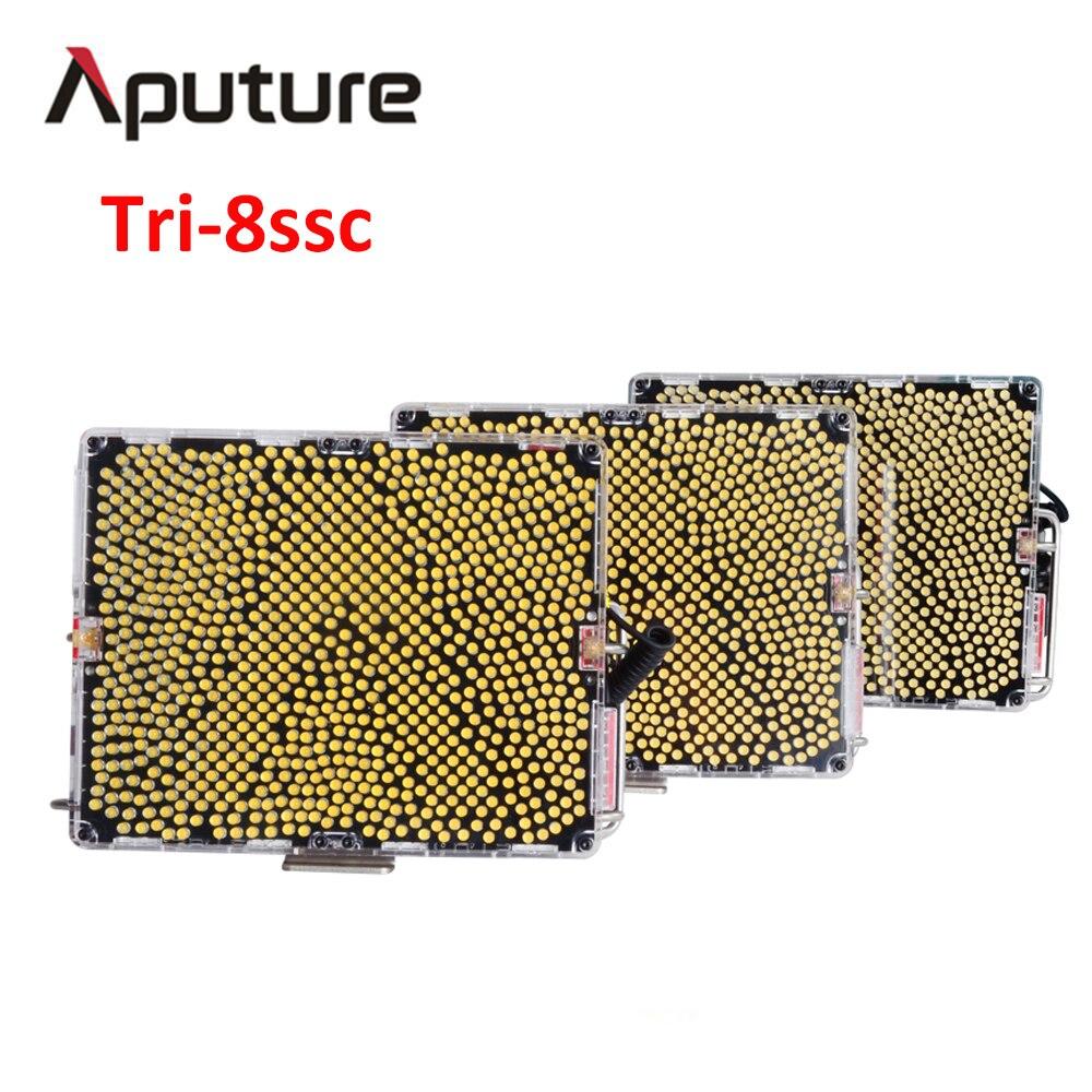 цена Aputure Amaran Tri-8ssc led studio light panel With 6pcs NP F970 Battery Easy Box led lamp photo studio light V mount