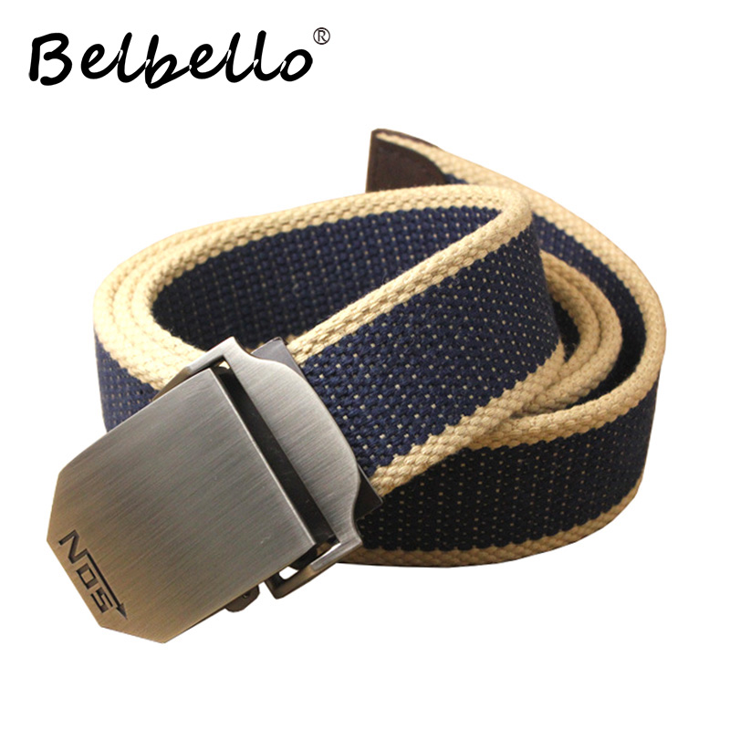 military belt outdoor tactical belt men&women high quality canvas belts for jeans male luxury casual straps ceintures
