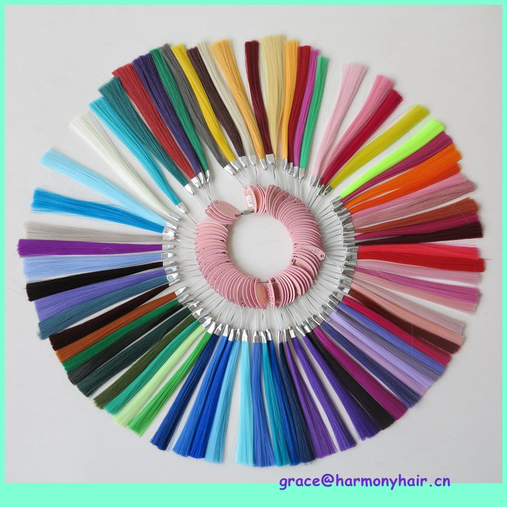 Free shipping 1setlot 146 colors synthetic hair color chart for free shipping 1setlot 146 colors synthetic hair color chart for jumbo braiding hair synthetic color wheel color ring in color rings from hair extensions nvjuhfo Image collections