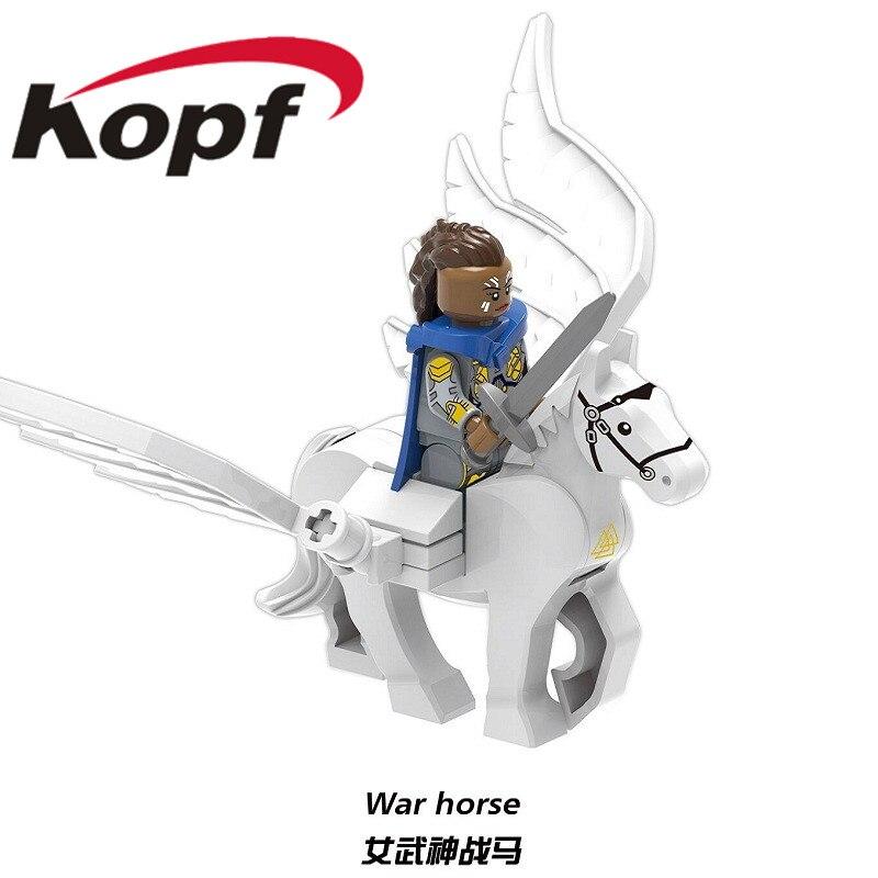 XH 1295 Super Heroes Building Blocks Avengers 4 Endgame Bricks Figures Valkyrie War Hores Captain America For Kids Gift Toys