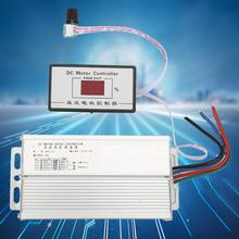 цена на DC 12~60V Brush PWM DC Motor Regulator Speed Controller with Digital Display 80A Motor Speed Governor Regulator