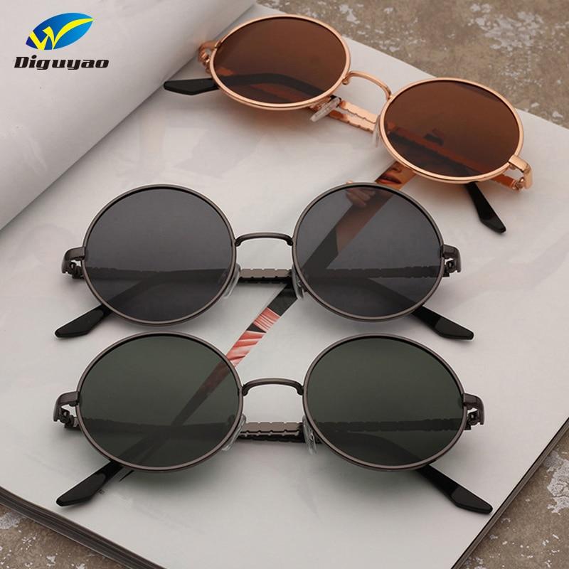 113ff9f568 fashion sunglass TAC Lens polarized classic Round Sunglasses Women Metal  Frame Sunglass Men Brand Sun Glasses