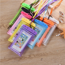 Aokali Mobile Phone Waterproof Bag Floating Air Bag Touch Screen Thickened Cartoon High Sealed Transparent Cover