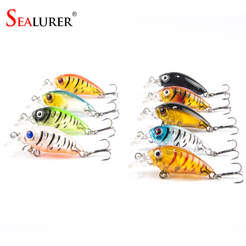 9pcs/lot Mini Crazy Wobble pesca Crankbait Hard Crank Bait Tackle Artificial Fishing Lures Swimbait Fish Japan Wobbler wdairen new fishing lures minnow crank 11cm 11g artificial japan hard bait wobbler swimbait hot model crank bait 5 colors wd 478