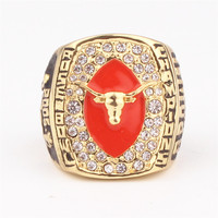 Sports Circle Ornament 2005 ROSE BOWLING CHAMPIONSHIP RINGS IN THE UNIVERSITY OF TEXAS Birthday Gifts Festivals
