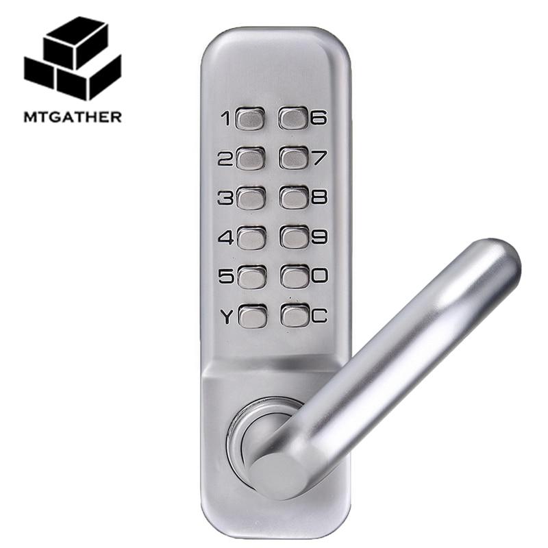 Mtgather Mechanical Door Locks Keyless Digital Machinery Code Keypad Password Entry Door Lock