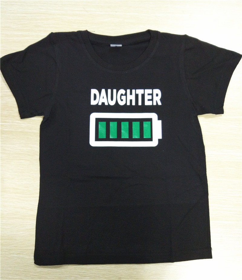 HTB1tB8ERVXXXXaMXFXXq6xXFXXXi - Family Matching Clothes Look Matching Outfits Clothes Dad Mom Daughter Son T-shirt for Daddy Mommy and Me Baby Girl Boy Clothing