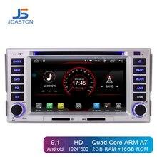 JDASTON Android 9,1 автомобильный dvd-плеер для HYUNDAI SANTA FE 2006-2012 Мультимедиа gps навигация 2 Din Автомобильный Радио Аудио стерео wifi