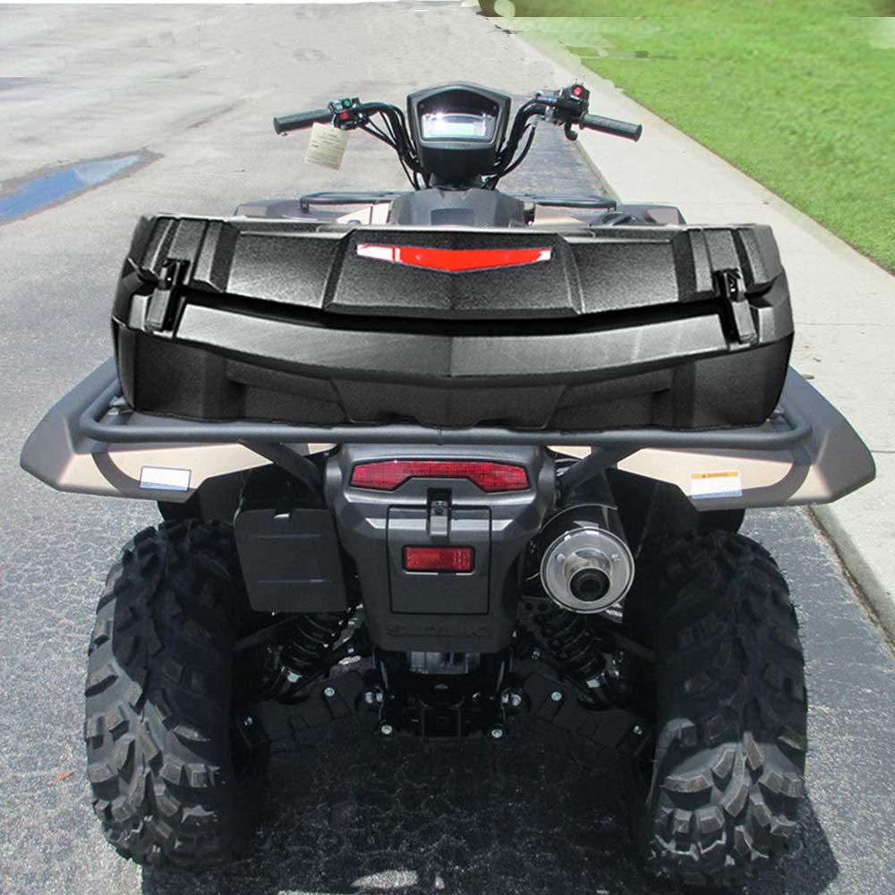 US $256 69 30% OFF|KEMIMOTO UTV ATV Black Trunk Rear Storage Cargo Box for  Can Am Maverick X3 2013 2019 Outlander MAX 450 500 Renegade 500 2015-in ATV