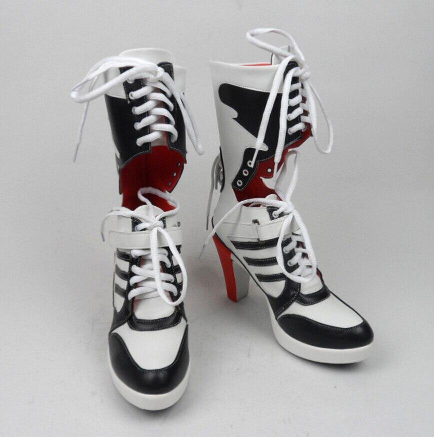 Harley Quinn Suicide Squad Boots Hakken Schoenen Cosplay Movie - Carnavalskostuums