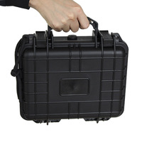 VULPO Tactical Hard Pistol Storage Case Gun Case Padded ABS Airsoft Pistol Case Carry Boxs for Hunting Airsoft