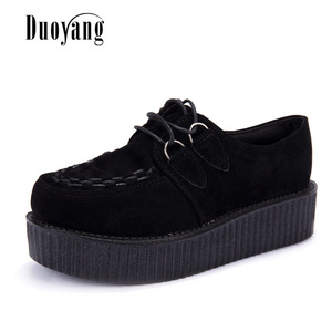 Creepers shoes woman plus size