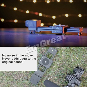 Image 3 - YC Zwiebel Schokolade Motorisierte Kamera Slider Aluminium Legierung Leichte, Tragbare für DSLR Spiegellose Kamera Bluetooth APP Control