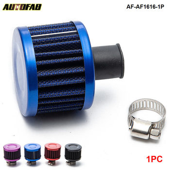 AUTOFAB-1PC Universal super power flow air filter 51*51*40(NECK:about 11mm)modified air intake filter For Honda crv AF-AF1616-1P image