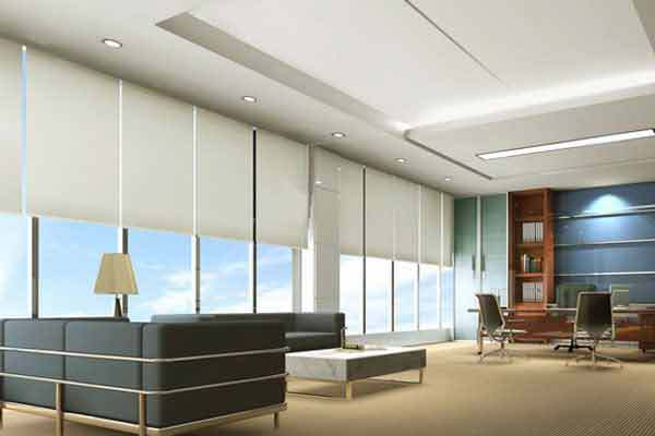 motorized roller shades 18m wide 05 18m hight sunscreen fabric - Motorized Roller Shades