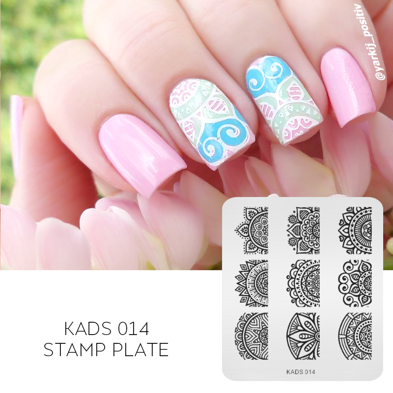 Aliexpress Buy Kads New Full Beauty Lace Flower Nail Art Print