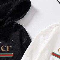 Men' Guc Design Print Fleece Hoodies Sweatshirts Winter Unisex Hip Hop Swag Sweatshirts Hoodies Women Gussi Hoody Clothes