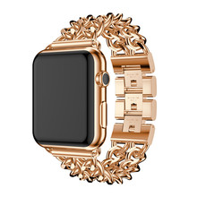 Suitable for Apple Watch38 / 42MM Watch with Denim Chain, Suitable for Iwatch Alloy Stainless Steel Strap assessing suitable alternatives for better livelihood