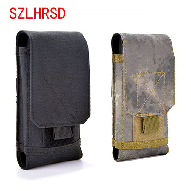 best sneakers c2143 ee425 Aliexpress.com : Buy SZLHRSD Outdoor Phone Case For Samsung Galaxy S9 Plus  s8 s7 Universal Military Tactical Holster Belt Bag Waist For AllCall Mix 2  ...