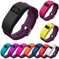 Wrist band silicone case smart watch band esporte pulso cinta fina Manga Designer de Banda Caso Capa para Fitbit Carga/Carga HR