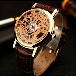 Famous brand skeleton watch rose golden women men wrist watch male clock ladies blazers watch relogio.jpg 250x250
