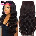 Virgin Indian Hair Lace Front Wigs Loose Wave Front Lace Wig 130density Wave Lace Human Hair Wigs Lacefront wig with Baby Hair