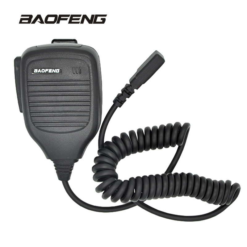 Mini Shoulder Handheld microphone for Baofeng walkie talkie UV-5R Portable two way radio Pofung UV 5RE Plus UV-B5 BF-888S UV-82