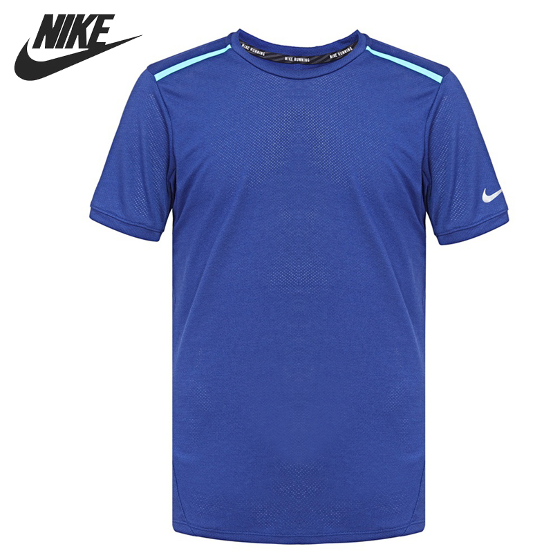 Original New Arrival  NIKE DF COOL TAILWIND Men's T-shirts short sleeve Sportswear original new arrival 2017 adidas club tee men s t shirts short sleeve sportswear