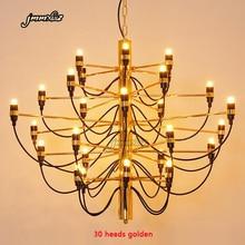 Jmmxiuz Modern ev decorationa lambaları 18/30/50 altın/gümüş Gino sarfaitti tasarlanmış chandeliaer yemek odası ışık oda