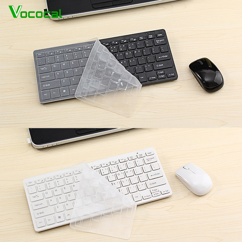 vococal ultra slim silent wireless 2 4ghz mini keyboard and mouse set w usb bluetooth receiver. Black Bedroom Furniture Sets. Home Design Ideas