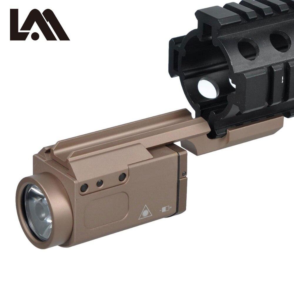 Tactique AK47 Pistolet Lumière AK-SD ZENIT 2P-KLESH TWP Arme LED lampe de Poche AK74 Fit 20mm Picatinny Rail Momentanée Sortie Strobe