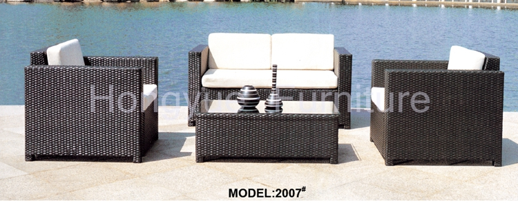 Rattan garden sofa furniture set with cushions sale корзинка для хранения garden rattan