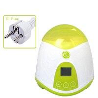 3 en 1 botella de bebé multifuncional y esterilizadores de calentador de alimentos Dispositivo de leche caliente pantalla LCD aislamiento de calefacción inteligente