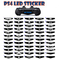 50pcs/lot PS4 controller LED sticker PS4 decal led cover controller LED sticker PS4 light bar LED sticker for wholesale