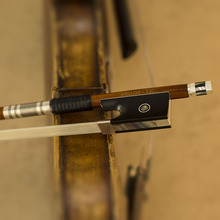 4/4 размер серебряный Пернамбуку Скрипка бант из натурального конского волоса мастер-мейкер удивительный тон меллор сольный уровень S20 части скрипки аксессуары