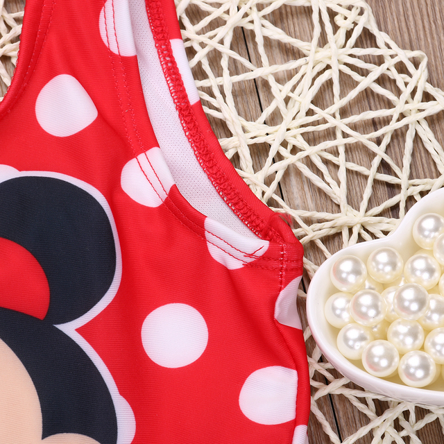 Mini Character One-Piece Swimsuit