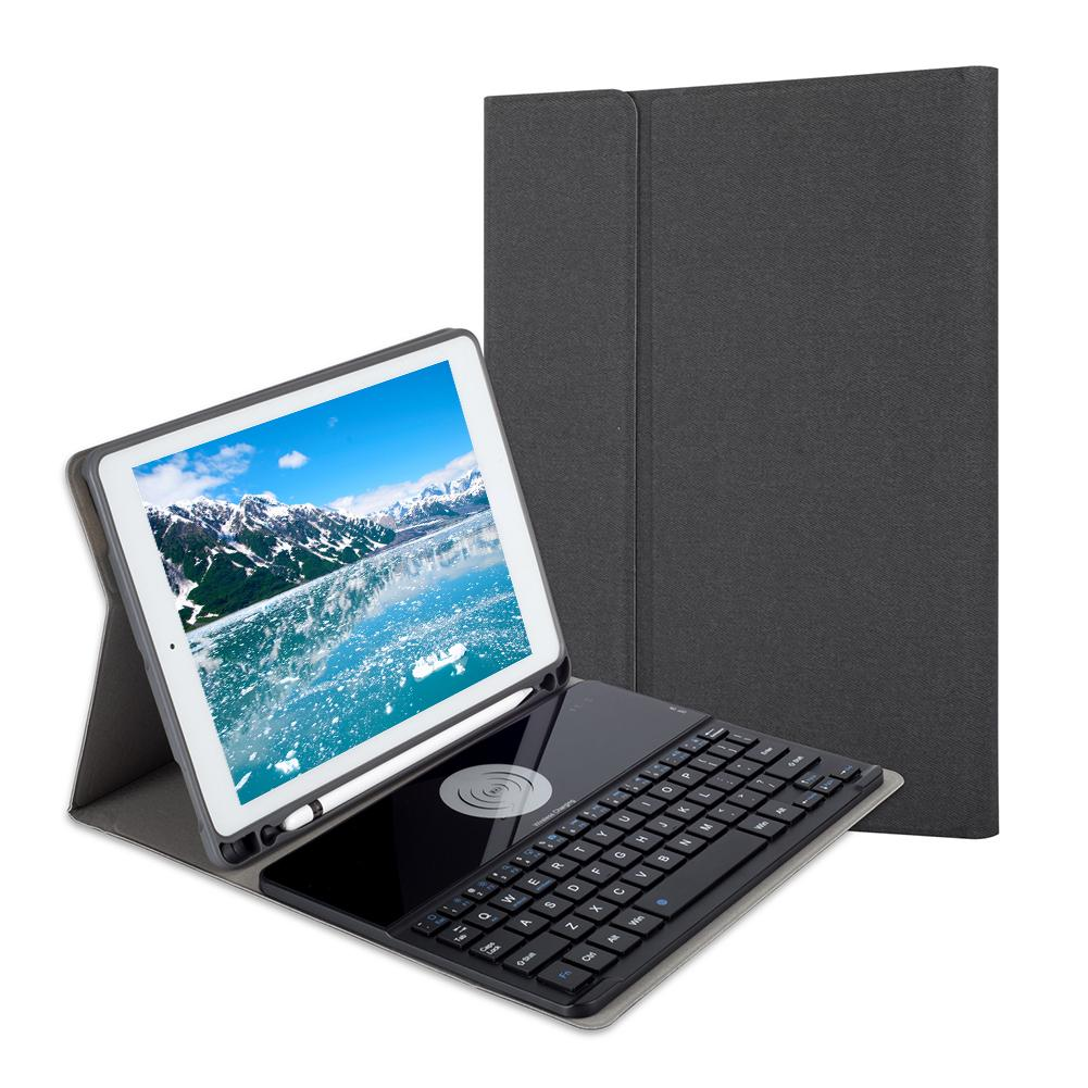 Fashion Tablet Case with Keyboard Wireless Charging Auto Sleep Wake Function for iPad 9.7 iPad 2018 2017 iPad Pro 9.7 Air 2 1Fashion Tablet Case with Keyboard Wireless Charging Auto Sleep Wake Function for iPad 9.7 iPad 2018 2017 iPad Pro 9.7 Air 2 1