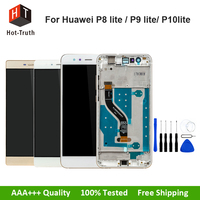 E Trust Grade AAA For Iphone 4s LCD Display Touch Frame Assembly Tempered Glass Tools Best