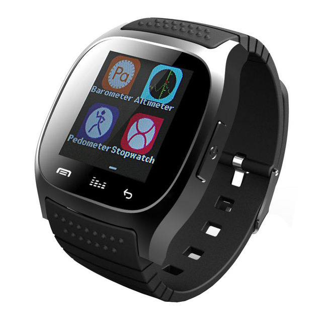 BINZI M26 Bluetooth Clock Smart Watches Android Wearable Devices Social App Call