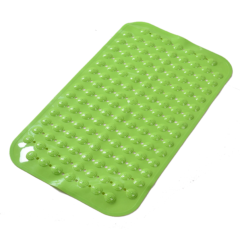 New Arrival PVC Shower Bathroom Floor Mat Anti Slip Bathroom and Toilet Carpet and Rug