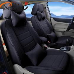 Autodecorun мест подушка набор для Subaru Tribeca 2008 чехлы автомобильные аксессуары автомобиль льняной ткани сиденья поддерживает протектор 23 шт