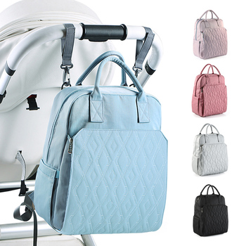 New Diaper Bag Backpack for Moms Waterproof Stroller Baby Bag Large Capacity Outdoor Travel Maternity Nappy Bags for Baby Care