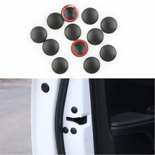 12Pc Car Door Lock Screw Protector Cover Auto Accessories For Alfa Romeo 147 156 159 Alfetta Berlina Brera Mito Giulia Milano